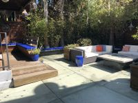 Beautiful Backyard Bench Cushions