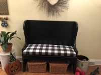 Buffalo Check Bench Cushion