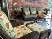 Custom Deep Seating Porch Cushions and Pillows
