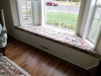 Custom Bay Window Cushion