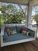Custom Porch Swing Cushion