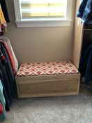 Closet Window Seat Cushion