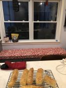 Kitchen Reno Window Seat Cushion