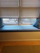 Window Seat Cushion in Home Office