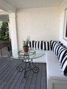 Outdoor Banquette Cushions