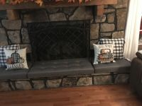 Fireplace Hearth Cushions