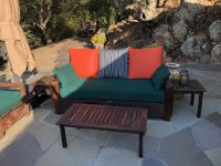 Outdoor Sofa Cushions and Pillows