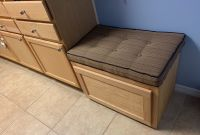 Shoe Storage Bench Cushion