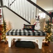 Welcome Bench Cushion