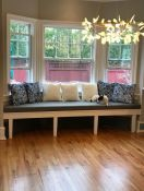 Gorgeous Bay Window Seat Cushion